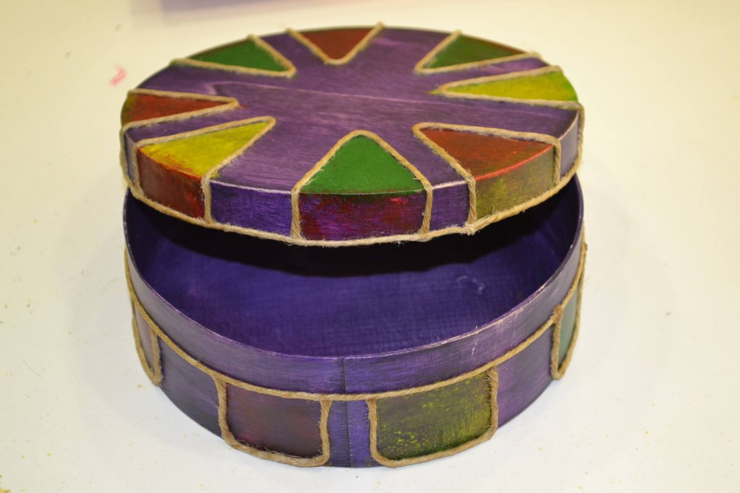 "Caja ""Balsa"" madera"